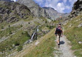 Hiking in Val Pellice in the Cottian Alps