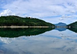 Lake Suviana in Emilia-Romagna
