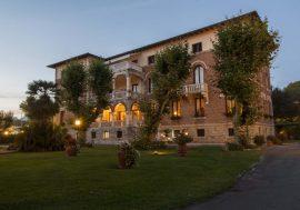 Historic Villas in Viareggio in Tuscany