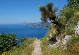 Hiking Along the Path of the Gods on the Amalfi Coast