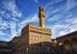 Visiting Palazzo Vecchio in Florence