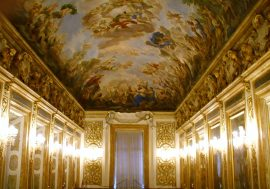 Inside Palazzo Medici Riccardi in Florence