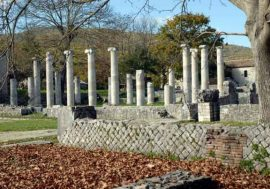 Archaeological sites in Italy: Altilia in Molise