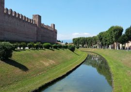 The Medieval Walled City of Cittadella and its Parapet Walkway