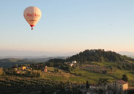 The Hot Air Balloon Festival in Florence