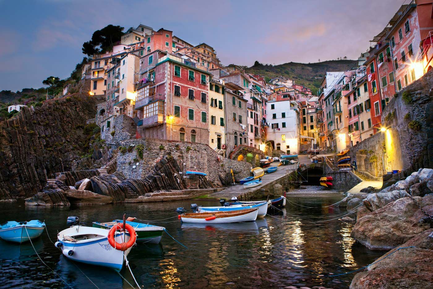 Italy Map Cinque Terre.Map Of The Cinque Terre In Italy Portovenere And Riomaggiore