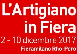 """L'Artigiano in Fiera"": an Italian crafts fair in Milan in 2017"