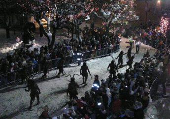 Festa di San Nicolò e la sfilata dei Krampus a Dobbiaco