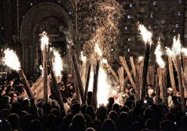 "December in Abruzzo: the ""Night of the Faugni"" in Atri"