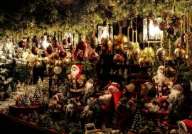 Christmas Market in Grazzano Visconti, Piacenza