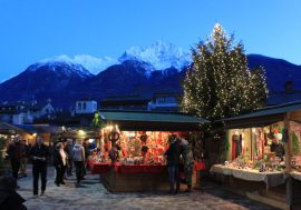 The Christmas Market of Aosta: Marché Vert Noël