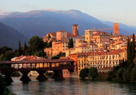 Itineraries in Bassano del Grappa, from the Brenta river to the Piave river