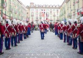 Carnival in Ivrea and Turin 2019