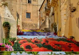 The Infiorata Flower Festival in Noto
