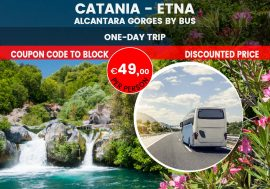 Mount Etna and the Alcantara Gorges Tour