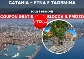 Salita all'Etna e tour di Taormina