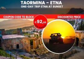 Mt. Etna Sunset Tour from Taormina