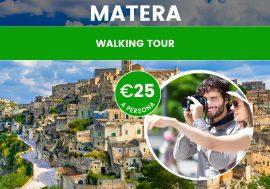 Visita Guidata a Matera, Città dei Sassi