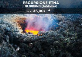 Escursione sull'Etna da Taormina