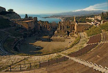 Salita all'Etna e tour di Taormina