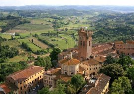 San Miniato Along the Via Francigena in Tuscany