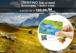 Rilassati ai piedi delle Dolomiti ed esplora con la Trentino Guest Card