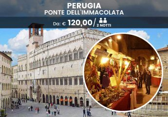 Weekend dell'Immacolata a Perugia