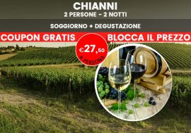 Soggiorno rilassante in agriturismo con degustazione di vino in Toscana
