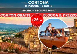 Soggiorno a Cortona e viaggio tra Toscana e Umbria