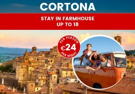 Stay in Cortona and See Tuscany and Umbria