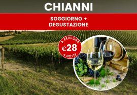 Offerta di soggiorno in Toscana: 2 notti con degustazione di vini