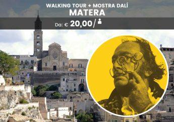 Walking tour di Matera con mostra di Salvador Dalí