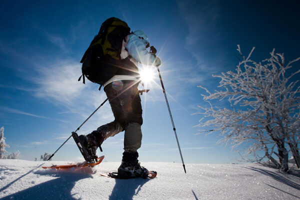 Snowshoeing-matese-molise