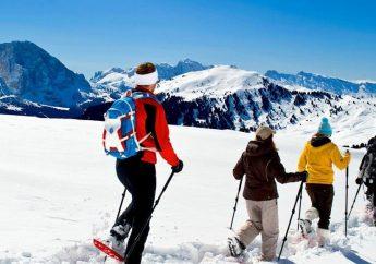 Snowshoeing in Campitello Matese