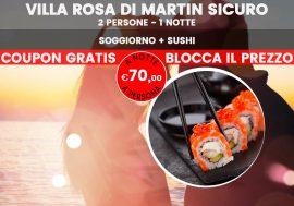 Abruzzo: fuga romantica con sushi e bollicine