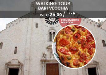Walking tour di Bari Vecchia con degustazione