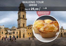 Walking tour di Lecce con degustazione del pasticciotto
