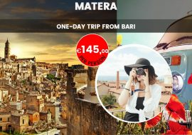 Visit Matera: one-day trip from Bari