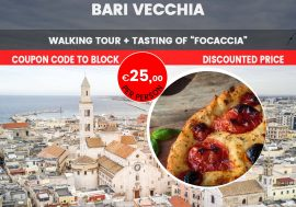 Guided Walking Tour of Bari with Focaccia Bread Tasting