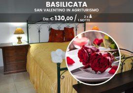 Offerta di San Valentino in agriturismo in Basilicata