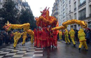 Il dragone del capodanno cinese