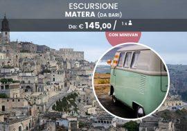 Escursione di un giorno a Matera, città dei Sassi