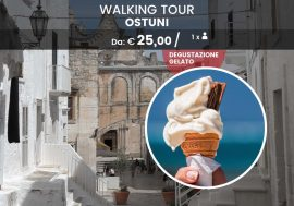 Walking Tour ad Ostuni con gelato artigianale