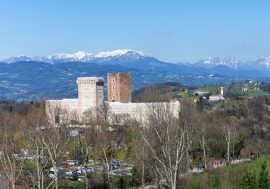 In the Footsteps of Shakespeare: the Castles of Romeo and Juliet in Montecchio Maggiore