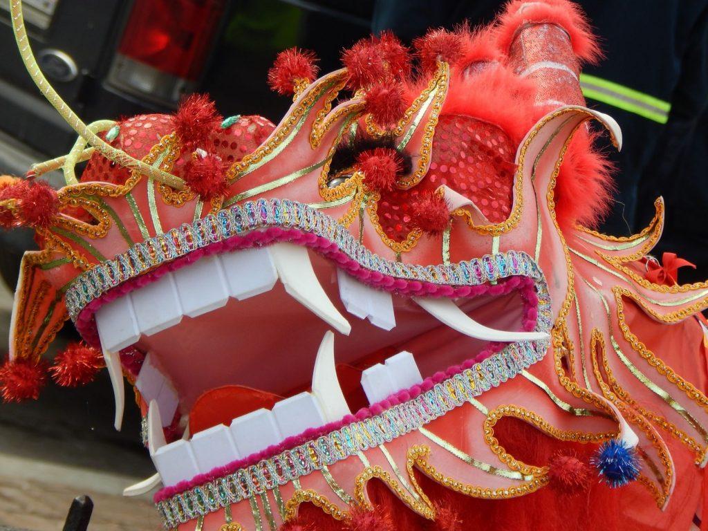 dragon parade chinese new year milan