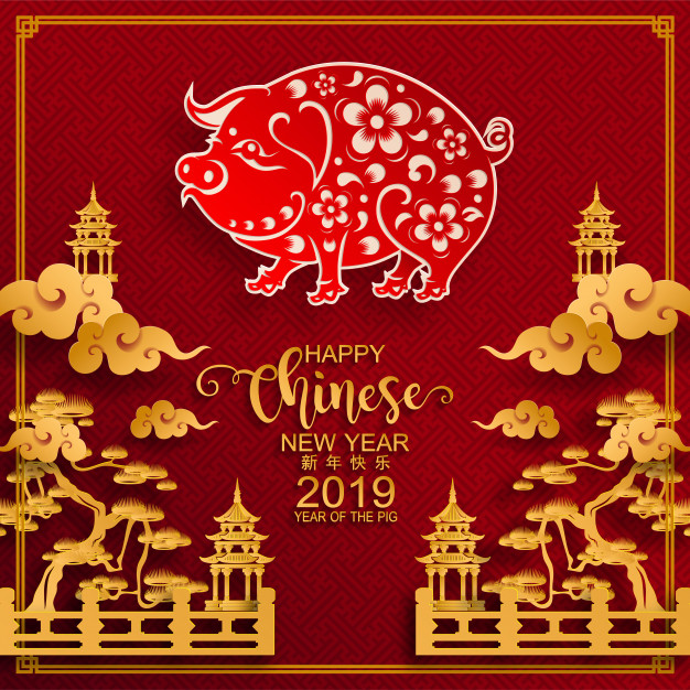 Anno del Maiale: Capodanno Cinese 2019