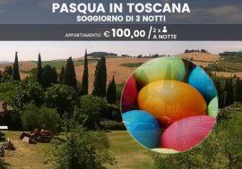 Weekend di Pasqua: soggiorno di tre notti in Toscana