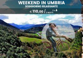 Weekend in Umbria: soggiorno rilassante di due notti