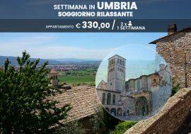 Una settimana in Umbria: soggiorno rilassante nel verde cuore umbro