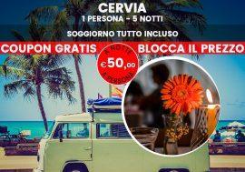 Riviera romagnola: soggiorno all inclusive a Cervia